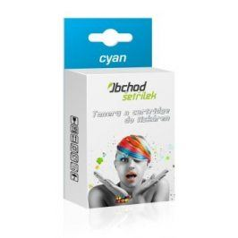 Cartridge Epson T0712 pro Epson Stylus Office BX610 FW, cyan - kompatibilní kazeta s čipem