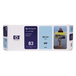 HP no. 83 - světle modrá ink. kazeta, UV, C4944A