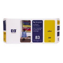 HP no 83 - žlutá tisk. a čistící hlava, UV, C4963A