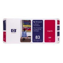 HP no 83 - červená tisk.a čistící hlava,UV,C4962A