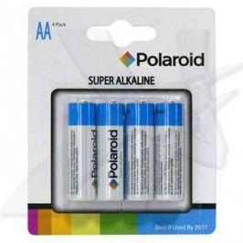 Baterie alkalická, AA, 1.5V, Polaroid, blistr, 4-pack, cena za 1 ks baterie