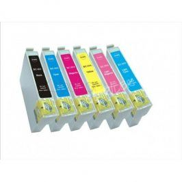 Cartridge Epson T0807 pro Epson Stylus Photo PX660, Multipack, kompatibilní