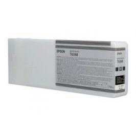 Epson T6368, Matte Black, C13T636800 - originál
