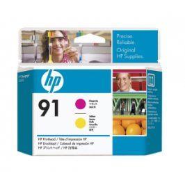 HP no 91 - purpurová a žlutá tisk. hlava, C9461A