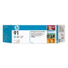 HP no 91 - azurová ink. kazeta - 3 pack, C9483A
