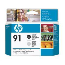 HP no 91- foto černá a sv.šedá tisk. hlava, C9463A