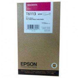 Epson T6113, Magenta, C13T611300 - originál