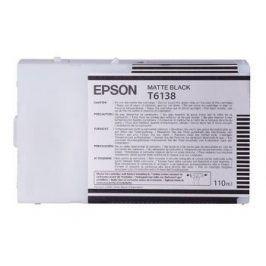 Epson T6138, Matte Black, C13T613800 - originál