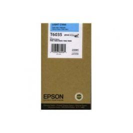 Epson T6035, Light cyan, C13T603500 - originál