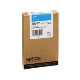 Epson T6032, Cyan, C13T603200 - originál
