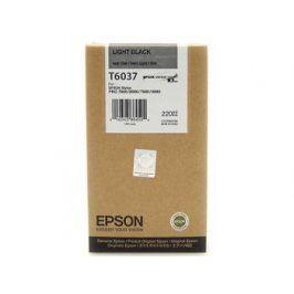 Epson T6037, Light black, C13T603700 - originál