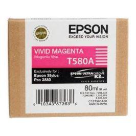 Epson T580A, Vivid Magenta, C13T580A00 - originál