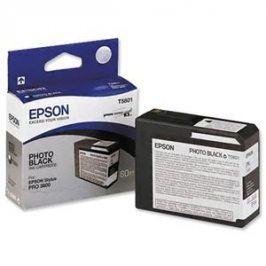 Epson T5808, Matt Black, C13T580800 - originál