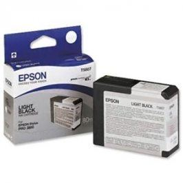 Epson T5807, Light Black, C13T580700 - originál