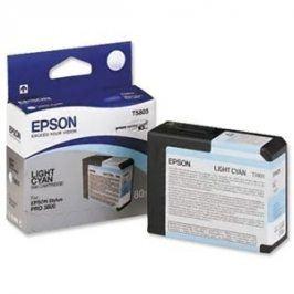 Epson T5805, Light Cyan, C13T580500 - originál