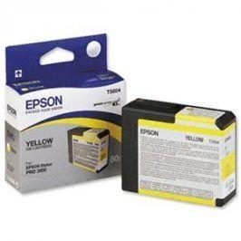 Epson T5804, Yellow, C13T580400 - originál