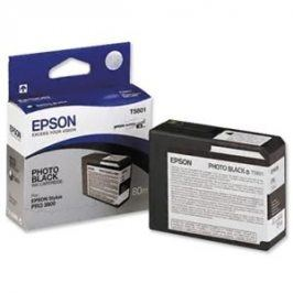Epson T5801, Photo Black, C13T580100 - originál