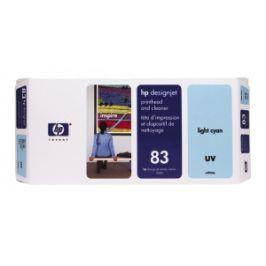 HP no 83 - sv.modrá tisk.a čistící hlava,UV,C4964A