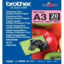 BP71GA3, 20 listů, A3 Premium Glossy, 260g
