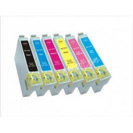 Cartridge Epson T0807 pro Epson Stylus Photo R265, Multipack, kompatibilní