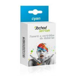 Náplň do tiskárny Epson T1302 pro Epson Stylus Office BX535 WD, cyan - kompatibilní kazeta s čipem
