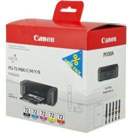 Canon PGI-72MBK + PGI-72C + PGI-72M + PGI-72Y + PGI-72R - originál