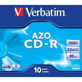 Verbatim CD-R DataLife Protection 52x, 10ks cakebox