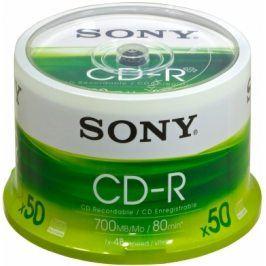 Média SONY CD-R 50CDQ-80SP ,bal.50ks ,SPINDL
