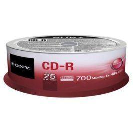 Sony CD-R 25ks cakebox