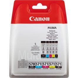 Náplň do tiskárny Canon PGI-570 PGBk + Canon CLI-571 Bk /C / M/ Y, Combo Pack, 0372C004 - originál