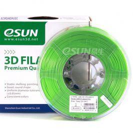 Tisková struna Esun3d CZ, ABS, 1,75 mm, Luminous Green, 1kg /role, (ABS175LGN1)