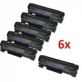 Tonery HP CE285A, černý (HP 85A), 6 kusů - kompatibilní