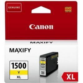 Náplň do tiskárny Canon PGI-1500 Y, Yellow XL, 9195B001 - originál