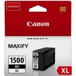 Náplň do tiskárny Canon PGI-1500 Bk, černá XL, 9182B001 - originál