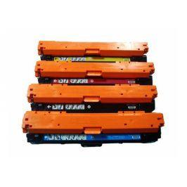 Tonery HP CE740A + CE741A + CE742A + CE743A, (HP 307A) - Multipack, kompatibilní