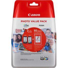 Barevné inkoustové kazety Canon PG-545 XL/CL-546 XL + fotopapír Canon GP-501, 8286B006 - originál