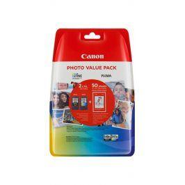 Canon PG-540XL + CL-541XL + fotopapír Canon GP-501 - originál