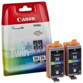 Canon CLI-36, color, 2pack - originál