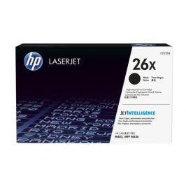 HP CF226X, Black, (26X) - originál
