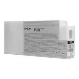 Epson T5969, Light Light Black, C13T596900 - originál