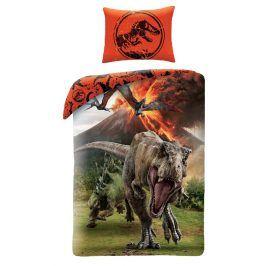 Halantex povlečení Jurassic World (Jurský park) JW-9100 140x200cm + 70x90cm