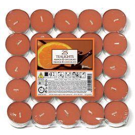 Aladino vonné čajové svíčky Pomeranč & čokoláda 25ks