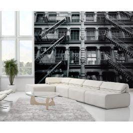 1Wall fototapeta New York bytový dům 315x232 cm