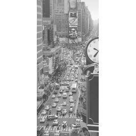 1Wall fototapeta Times square černobílá 95x210 cm