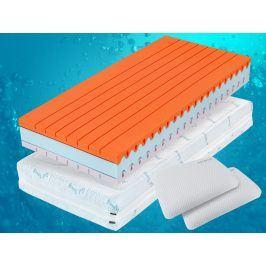 VISCOPUR Ortopedická matrace Viscopur® PERFORA 26cm - 90x210 cm | 1+1 zdarma (2ks)