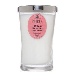 Price´s SIGNATURE vonná svíčka ve skle Tonka & pink pepper XL 615g