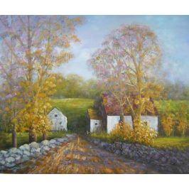 Obraz - Podzimní cesta