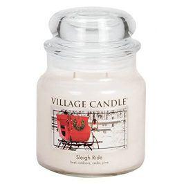 Vonná svíčka ve skle Zimní vyjížďka-Sleigh Ride, 16oz