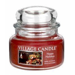 Vonná svíčka ve skle Šťastné Vánoce-Happy Holidays, 11oz