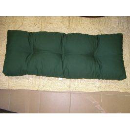 Zelený polstr na paletový nábytek K3, 120x40 cm